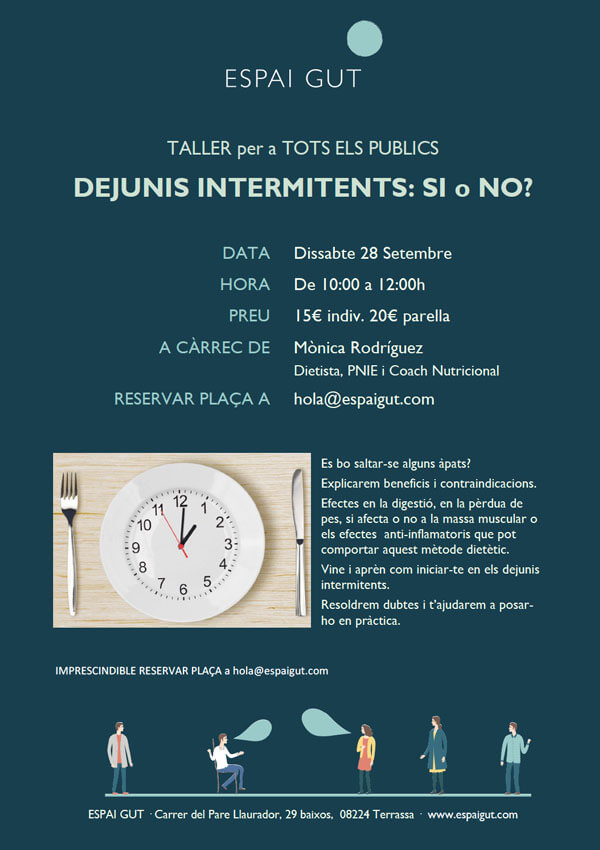 Taller: Dejunis intermitents